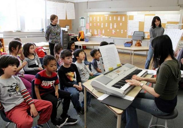 音楽の授業風景