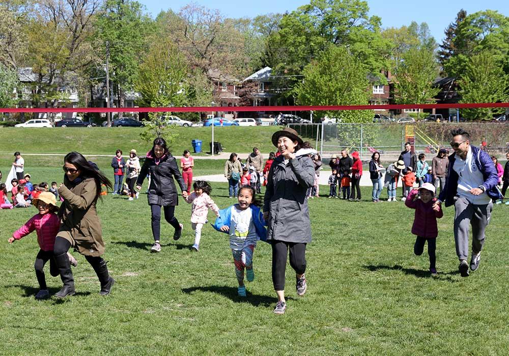 運動会:親子競争