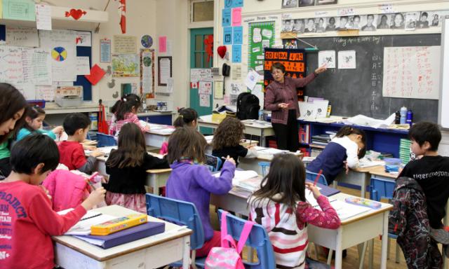 トロント国語教室:授業風景