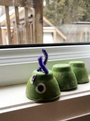 虫:つぼみ組クラフト