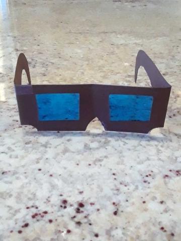メガネ:つぼみ組クラフト