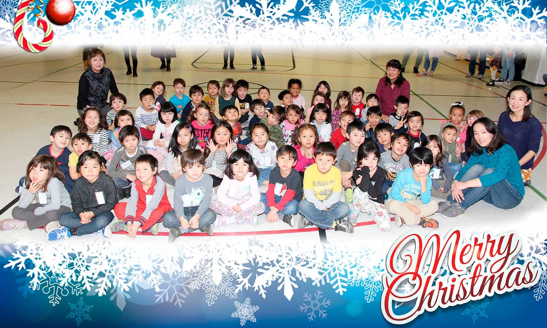 国語教室よりメリークリスマス